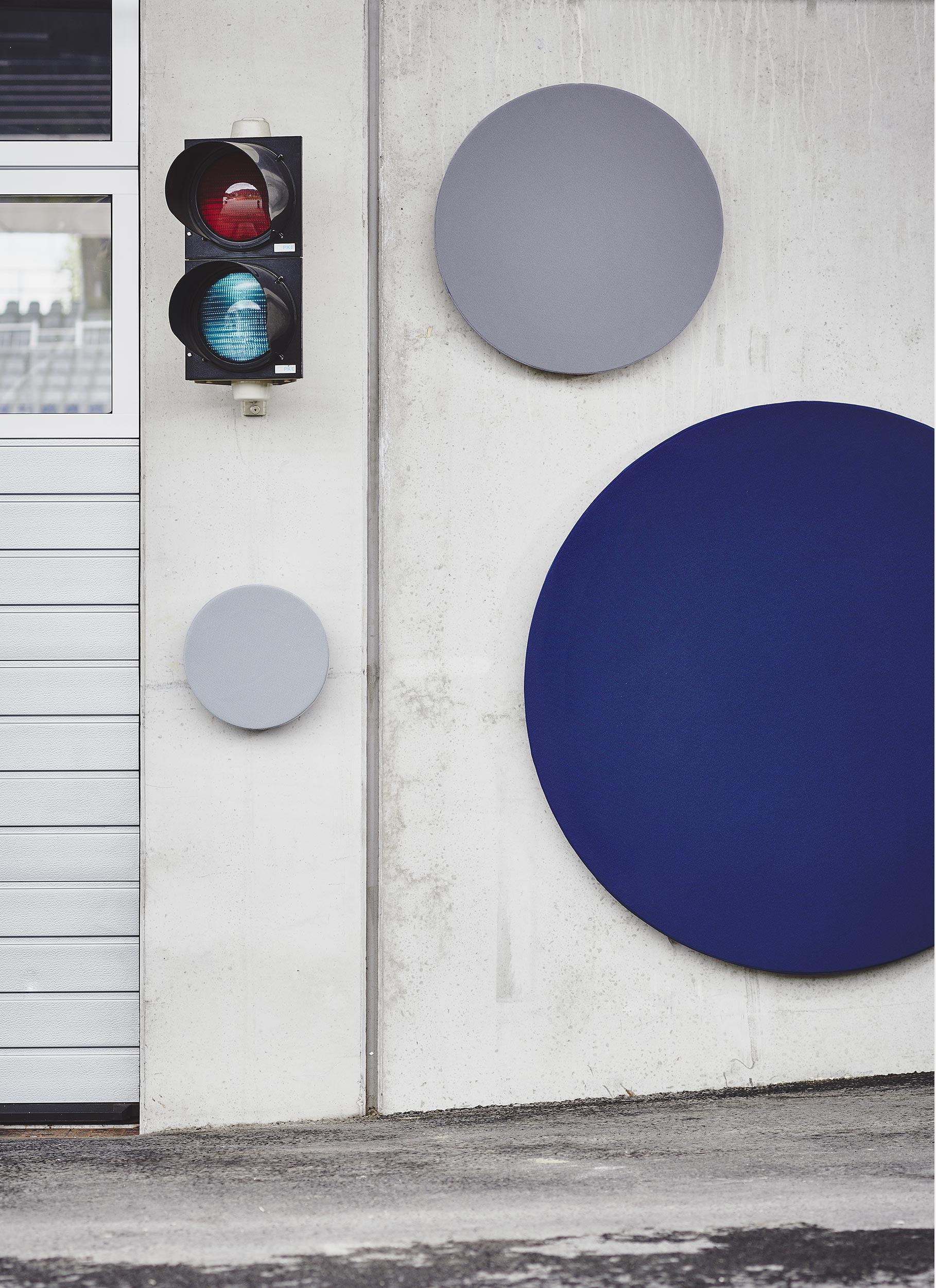 wandabsorber wing round runder akustik schallabsorber b11. Black Bedroom Furniture Sets. Home Design Ideas