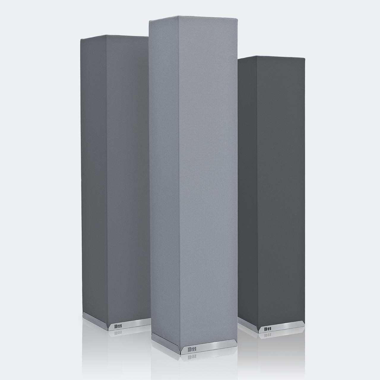 Akustiksäule, Standabsorber, Akustikschaumstoff, Akustikelemente, Breitbandabsorber, Basotect, Schallabsorber, Schaumstoff Schallschutz, Raumakustik Absorber